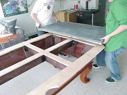 Pool table moves in Lockport New York
